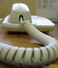 phone curly cord