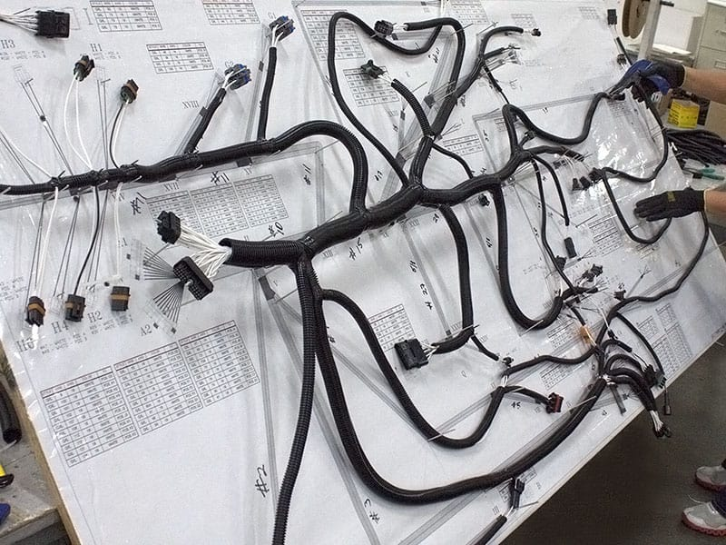 Harness board how are wire harnesses and wire assemblies designed and wiring harness manufacturers at fashall.co