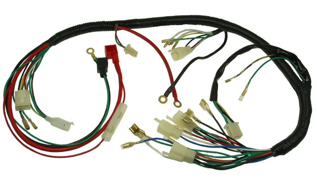 Components Of Wiring Harness : Wire harness meridian cable